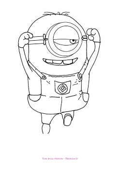 coloriage-minion13