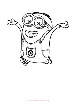 coloriage-minion14